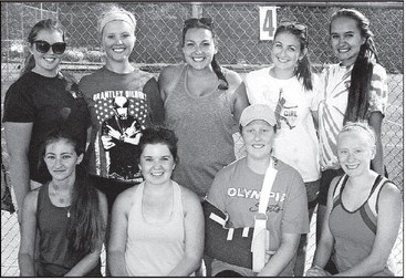 Honesdale Girls Tennis Team
